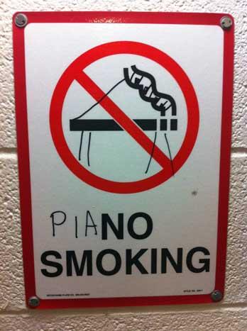 Piano Smoking