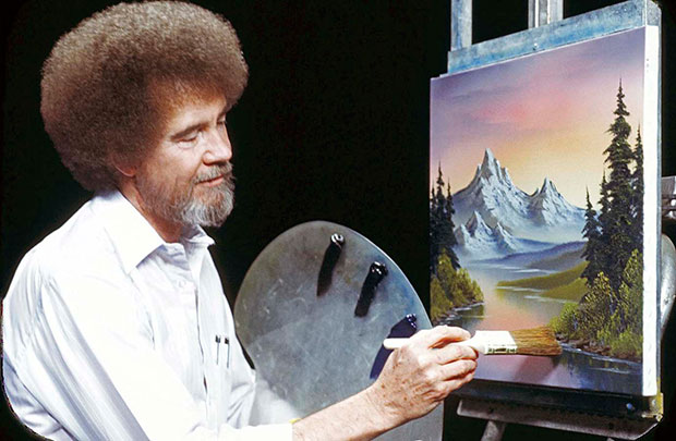 You are Bob Ross, and the Internet is your palette.