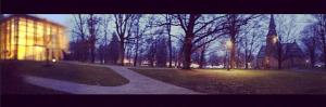 It got dark early.