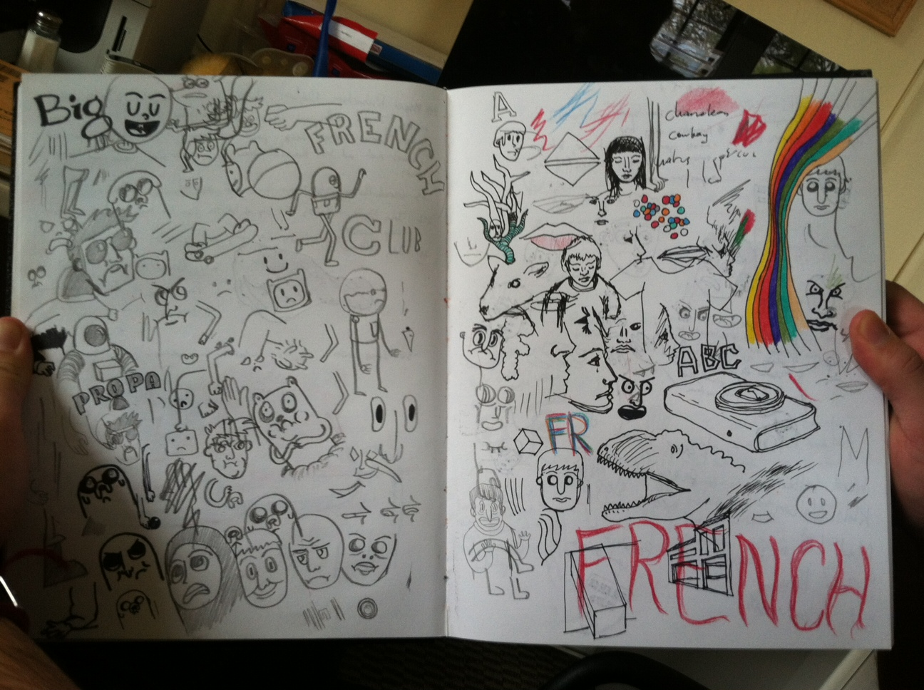 Inside The Artist's Sketchbook: Nick Anania '14 « The