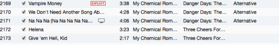 My Chemical Romance Music Videos