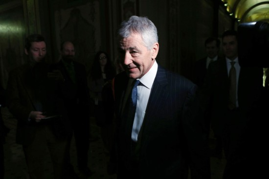 Chuck Hagel has been filibustered. (via Swampland.time.com)