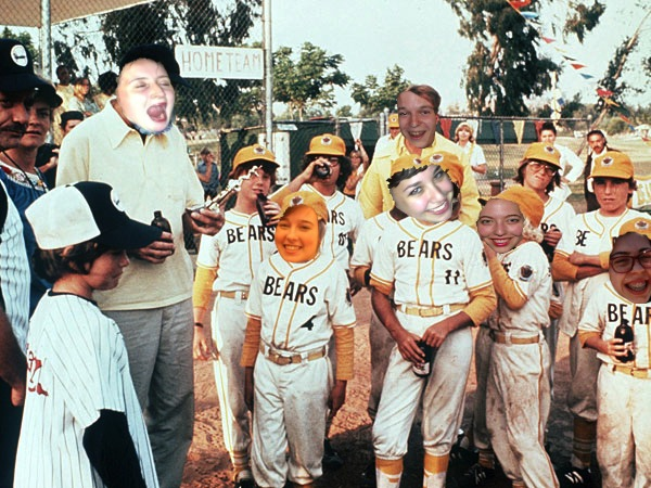 We are exactly as good at sports as the Bad News Bears.