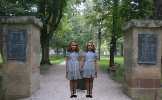 the shining twins at kenyon
