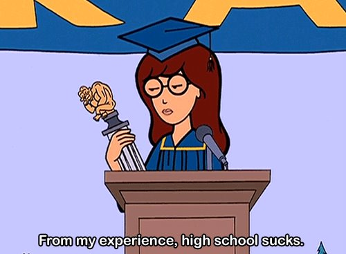 Daria tells it like it is.