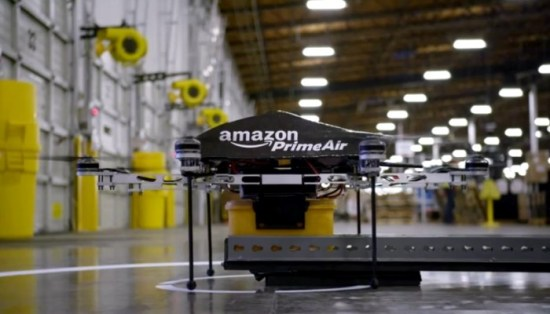 This drone could arrive at your doorstep any day now (not really), so long as you live near an Amazon fulfillment center.