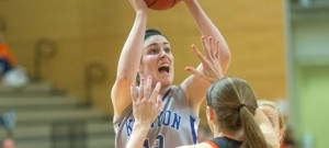 Maureen Hirt '14 leads the Ladies with 286 points this season. (courtesy of athletics.kenyon.edu)