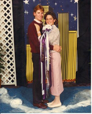Ah, high-school dances, you never know when another is going to creep into your life.