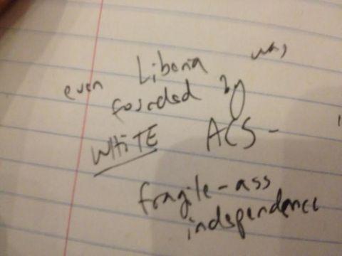 fragile-ass independence