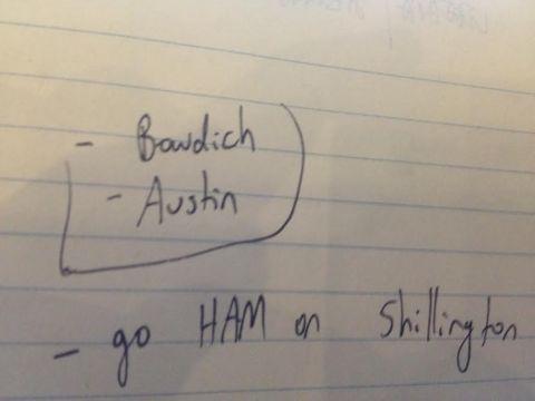 HAM on shillington