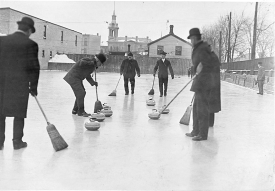 Middle Path could host rousing curling competitions.