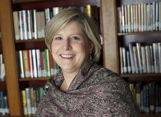 Heidi Hansen McCrory, new vice president for college relations. (via sbc.edu)