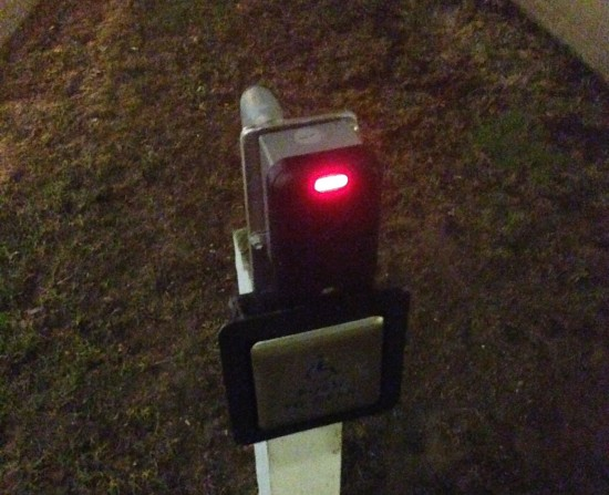 K-Card Scanner outside of Tomsich Hall