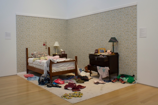 Senior exhibition of Yolowitz '14 in the Gund Gallery