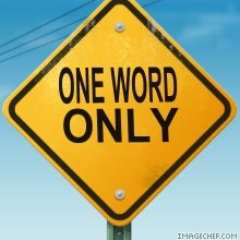 one-word