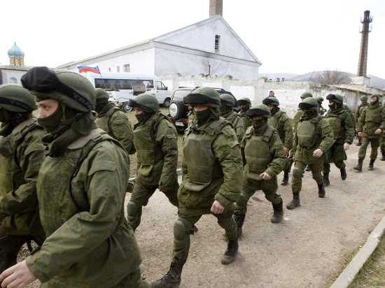 Tensions have risen in eastern Ukraine since Russia's annexation of Crimea.