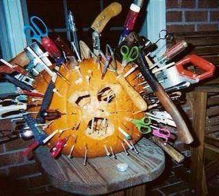 If anybody wants to make a pumpkin like this with me, please let me know.