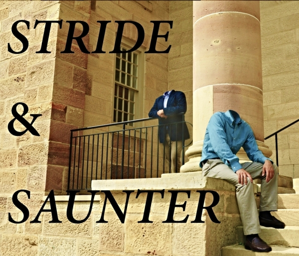 stride and saunter