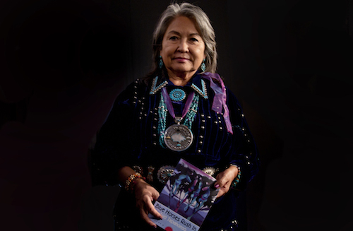 Luci Tapahonso, the first and current Poet Laureate of the Navajo Nation.