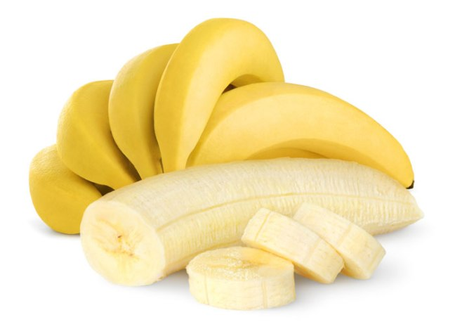 Did you know bananas split in three?