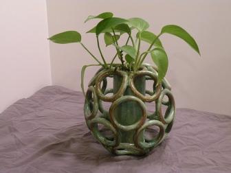 Del Giudice's ceramic project from high school
