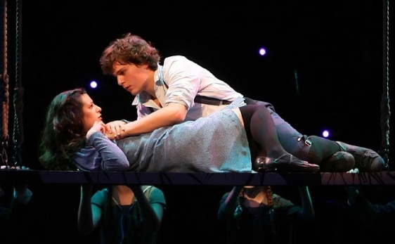 Your bedroom, or the stage? (Photo from Spring Awakening)