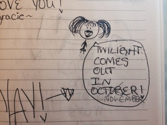 Please tell me I wasn't the only one. (via my middle school journal)
