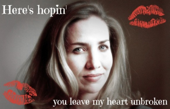 Laura Hillenbrand '89 didn't have to think too hard about her Valentine slogan.