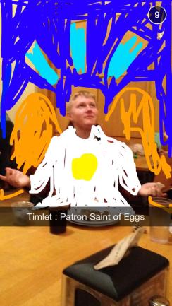 Timlet, a god among men