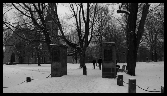 gates of hell in winter