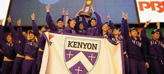 via athletics.kenyon.edu