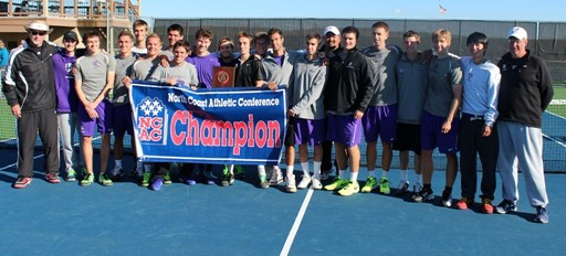 The men's tennis team (via athletics.kenyon.edu)