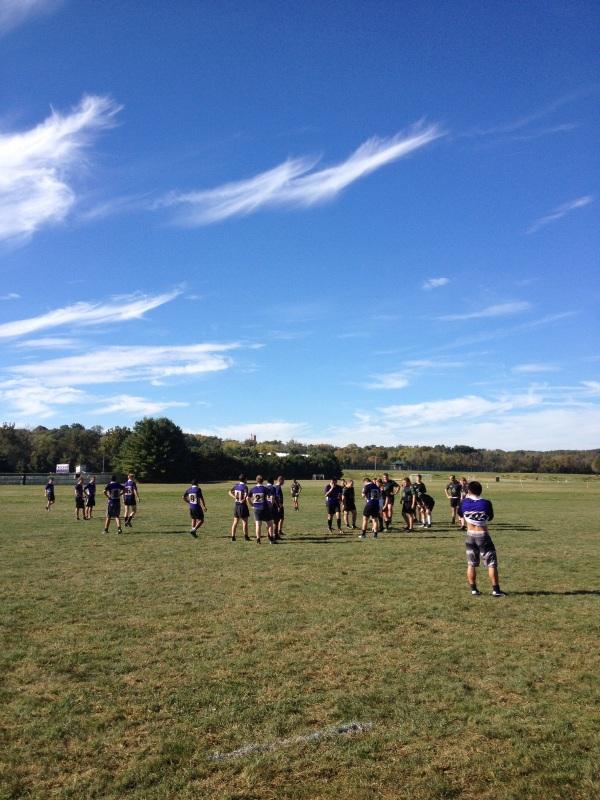 Kenyon's Rugby pitch - home to all the ruggers and a whole lot of worms.