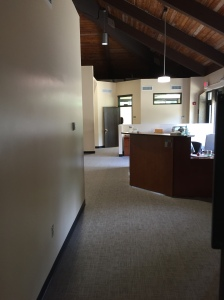 The new ResLife offices.