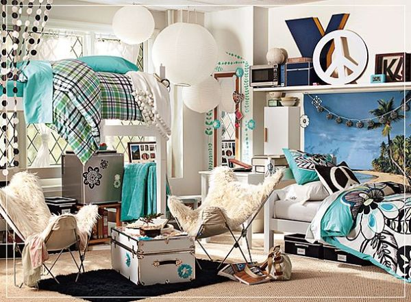 Figure out how to get your dorm room to look like this? Maybe this is your shining moment!