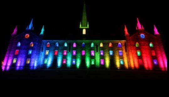 So rainbow. So gay. All my dreams are alive.