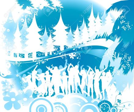 2190736-winter-party-Christmas-composition-with-silhouettes-dancing-Stock-Photo