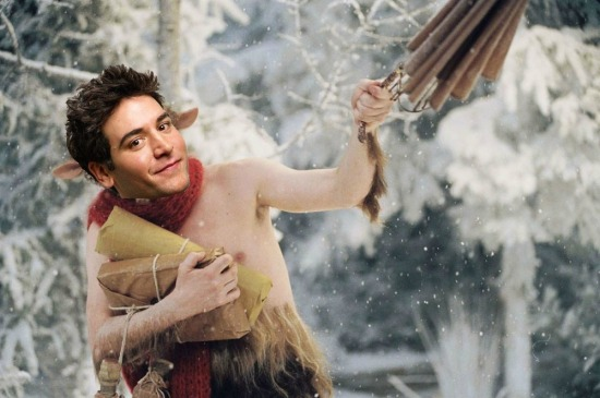 Did you know Josh Radnor played Mr. Tumnus in the original version of The Lion, The Witch and the Wardrobe? Due to a contract dispute, Disney invented a CGI character named James McAvoy and used digital imaging to swap his face with Radnor's!