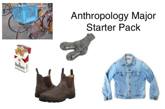 anthropology-major-starter-pack