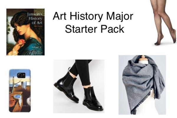 art-history-major-starter-pack