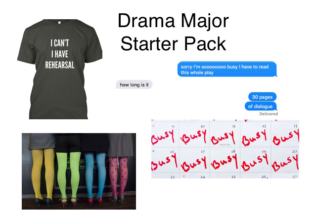 drama-major-starter-pack