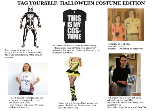 TAG YOURSELF HALLOWEEN