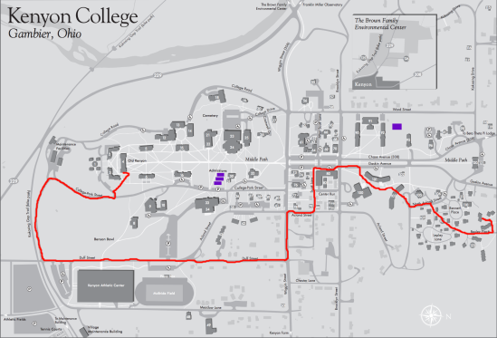 How To Walk Across Campus Without Seeing A Mod The Kenyon Thrill