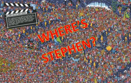 WHERE'S STEPHEN
